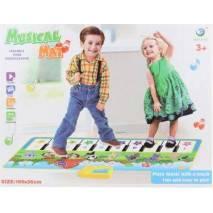 Dětský koberec piánko se zvířátky
