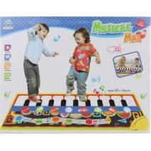 Dětský koberec se zvuky hudebních nástrojů