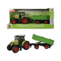 MaDe Traktor s vlečkou, zvuky a světlo