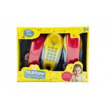 Dětské pokojové telefony 2ks 8m