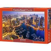 Puzzle 1000 dílků - Noční Dubaj 103256