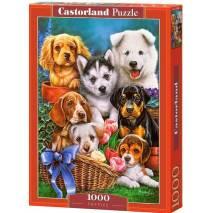 Puzzle 1000 dílků - Štěňata 104048