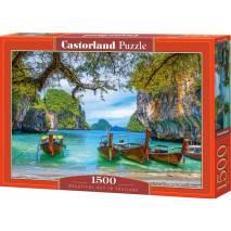 Puzzle 1500 dílků -  Krásná zátoka v Thajsku 151936