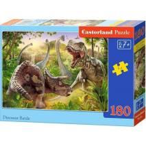 Puzzle 180 dílků - Dinosauří bitva 18413