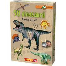 Mindok Expedice příroda: 50 dinosaurů