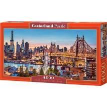 Puzzle 4000 dílků - Večer v New Yorku 400256