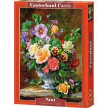 Puzzle 500 dílků - Váza květin 52868