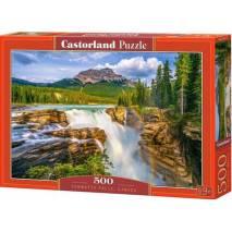 Puzzle 500 dílků - Vodopády Sunwapta, Kanada 53117