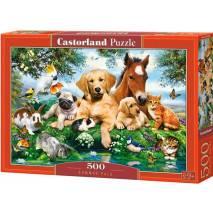 Puzzle 500 dílků - Zvířecí parta 53230