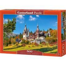 Puzzle 500 dílků - Hrad Peles, Rumunsko 53292