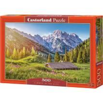 Puzzle 500 dílků - Léto v Alpách 53360