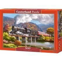 Puzzle 500 dílků - Železný kůň 53452