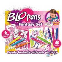 BLOW pens Foukací fixy - Fantasy