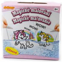 Magické malování - Jednorožci