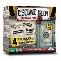 ESCAPE ROOM 2 - úniková hra 4 scénáře
