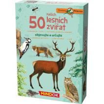 Mindok Expedice příroda: 50 našich lesních zvířat