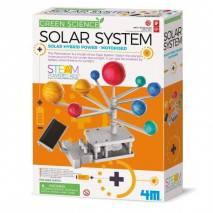 4M Sluneční soustava na solární pohon