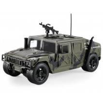 MaDe Vojenské obrněné vozidlo HUMMER - CZ hlasy a světlo