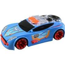 MaDe Auto Motor Extreme (jezdí a hraje) MODRÉ
