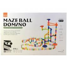 Stavebnice kuličkodráhy Maze Ball Domino 218dílů