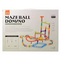 Stavebnice kuličkodráhy Maze Ball Domino 174dílů