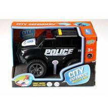 Auto POLICE Superior, zvuky a světlo