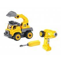 BUKI RC Stavební stroje 2v1 - šroubovací stavebnice