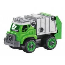 BUKI RC Popelářské auto 2v1 - šroubovací stavebnice