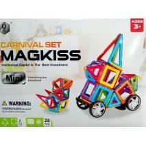 Magnetická stavebnice MAGKISS mini 28pcs