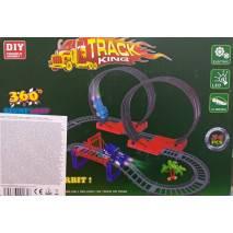Stavebnice dráhy s autíčkem 2xLOOP Track King
