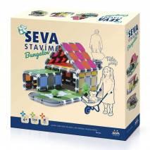 SEVA Stavíme Bungalov - polytechnická stavebnice