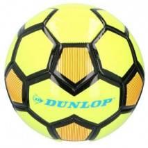 Míč fotbalový Dunlop šitý 22cm vel.5 - žluto-černý