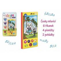 Teddies Veselý Mobilní telefon - mluví česky
