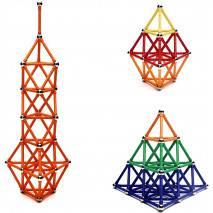 Magnetická stavebnice MAGNETIC 120 dílků