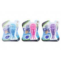 Svítící chobotnice na potápění