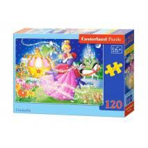 Puzzle 120 dílků - Popelka 13395