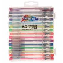 Grafix Gelové tužky 30ks