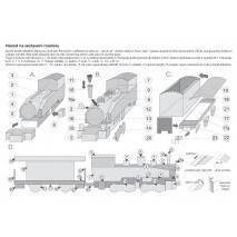 Vystřihovánka - Historické lokomotivy