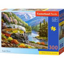 Puzzle 300 dílků - Vlak Eagle River 30293