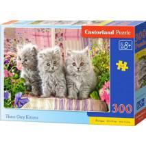 Puzzle 300 dílků - Tři šedivá koťata 30330
