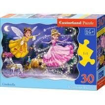 Puzzle 30 dílků - Popelka 3747