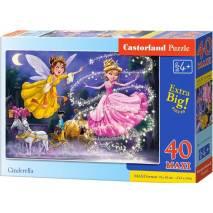 Puzzle MAXI 40 dílků - Popelka 40278