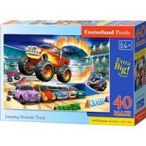 Puzzle MAXI 40 dílků - Skákající Monster Truck 40308