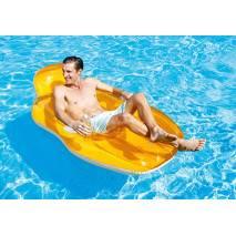 INTEX Nafukovací křeslo Chill'N Float 56805 oranžová