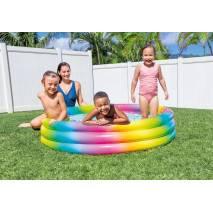 INTEX Bazén Rainbow Ombre 147x33cm 58439