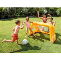 INTEX Fotbalová branka nafukovací 58507 oranžová
