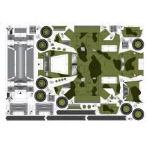 Vystřihovánka - Vojenská vozidla