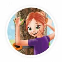 BUKI Dětský stromový lezecký set