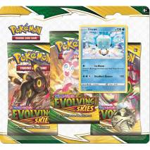 Pokémon TCG: Sword and Shield - Evolving Skies 3 Pack Blister - Eiscue