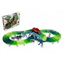 Dinosauří autodráha Dinosaur Track 127dílů